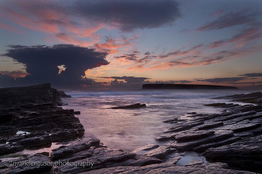 Dolmen cloud at Birsay