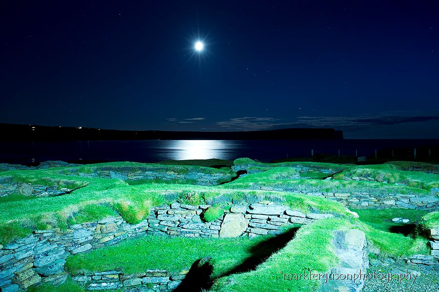 Brough of Birsay Norse settlement
