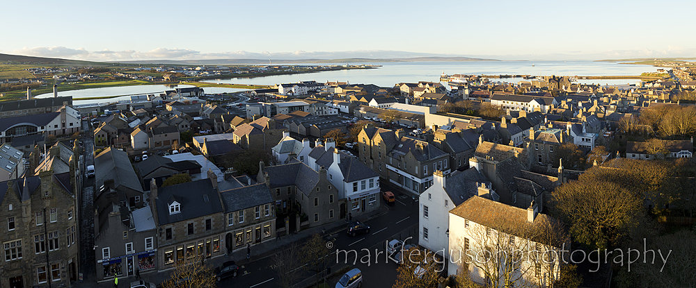 Kirkwall panorama