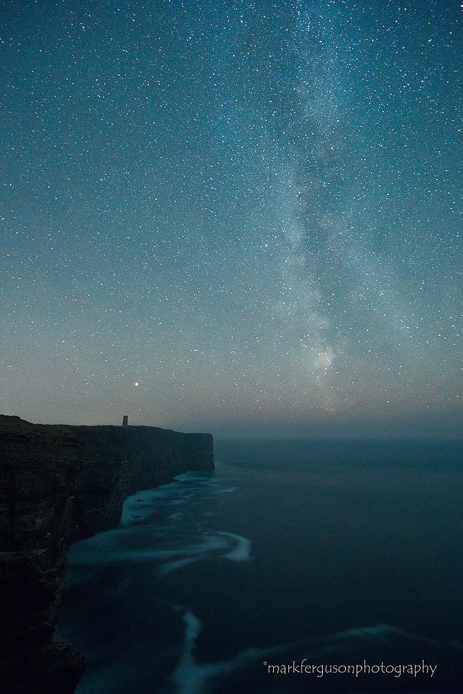Milky Way over Marwick Head