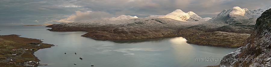 Loch A Siar panorama