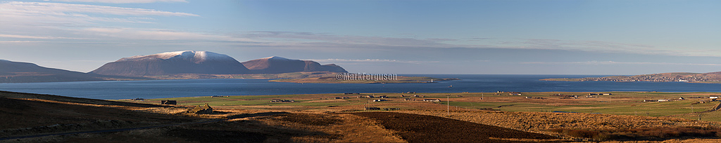 Hoy and Stromness panorama
