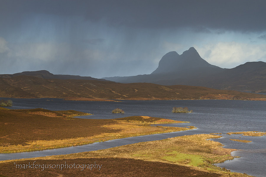 Suilven and Cam Loch