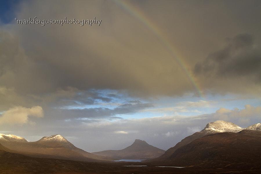 Coigach rainbow