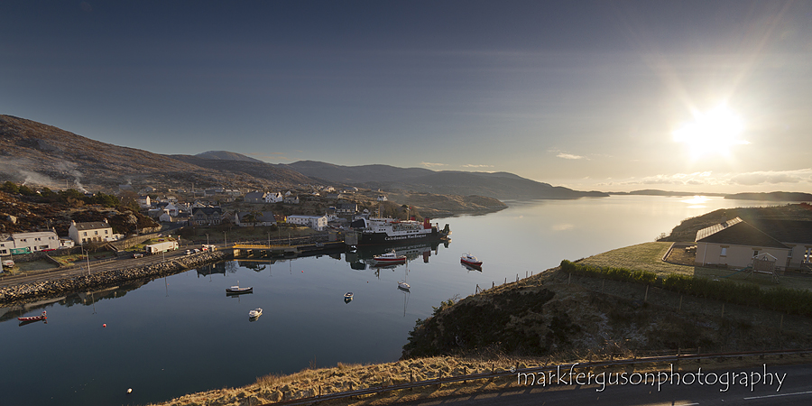 Tarbert sunrise