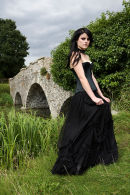 Model, Serena Falls's