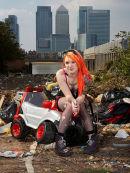 Model, Tank Girl