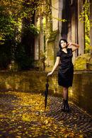 Model, Leanne Bisson