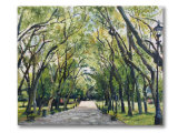 Palace park painting 'The Avenue'