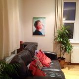 Chris's painting in situ!