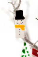 Snowman (yellow scarf) Christmas decoration
