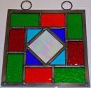 Diamond window hanging by Mark Knowles