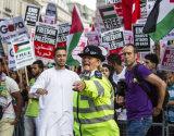 Police at BBC Demo 2