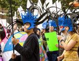 Climate Demo Blue Headress