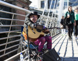 Guitar Guy on Bridge