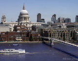 St Paul's and the Millenium Bridge
