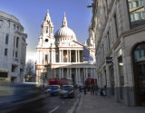 St. Paul's and Moving Taxi