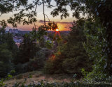 Sunset over Richmond