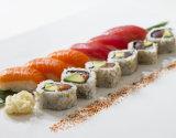 Rainbow of Sushi