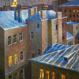 Frosty roofs
