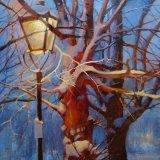 Lantern of the winter night