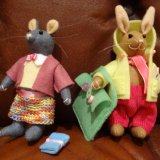 Lerned Mice and Rabbit the Artist