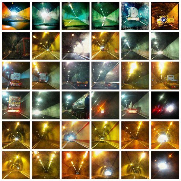 36 tunnels