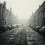 Man in Fog, Bruce Street, Stirling
