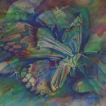 Butterfly Coterie, watercolour