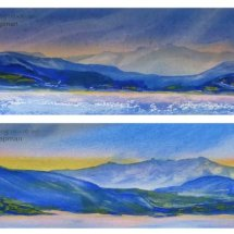 South Island, Morning and Evening