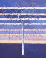 Winter Birch Blue