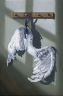 Falling From A Great Height  (60 x 40 cms, oil on canvas, 2012)