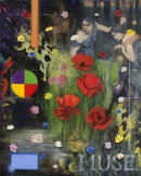 'Flores Para Los Muertos (The Death of Orpheus)', oil on canvas, 65 x 81cm