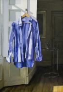 Meet On The Ledge (2010, oil on canvas, 73 x 50 cms)