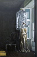 Waiting For Night To Fall (2011, oil on canvas, 100 x 65 cms
