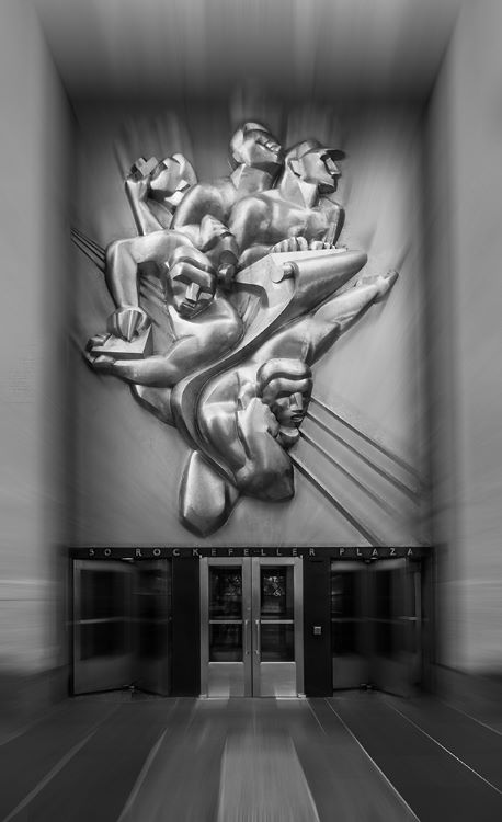 50 Rockefeller Plaza Entrance