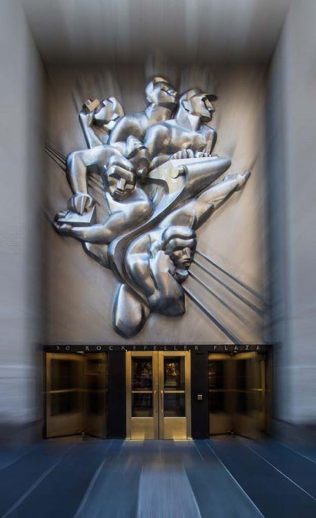 50 Rockefeller Plaza Entrance