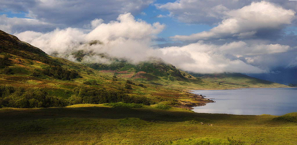 August morning Loch Arklet