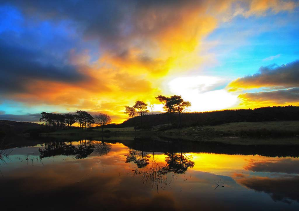 Breaking Dawn at Knapps Loch