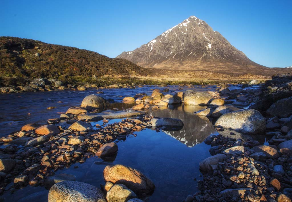 Buachaille Etive Mhor & River Coupall