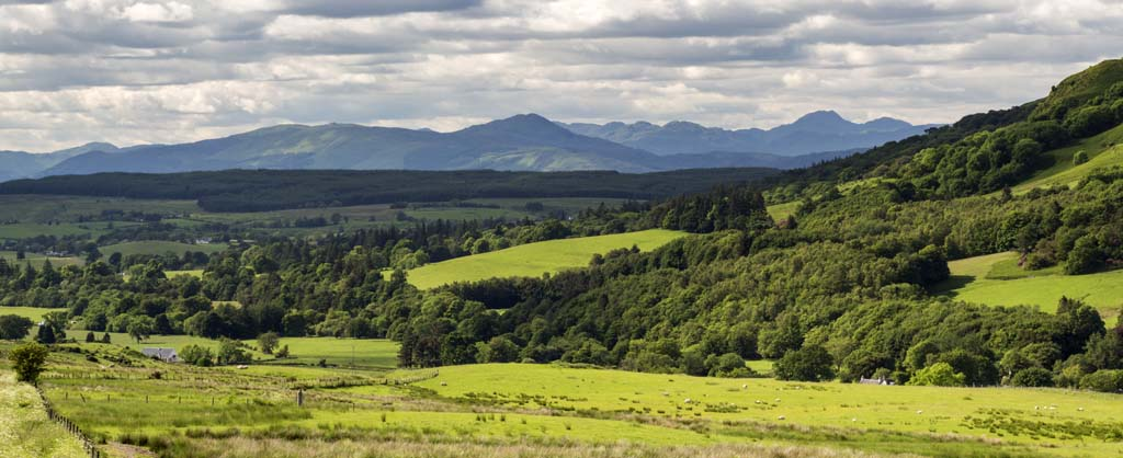 Carron Valley and Ben Lomond