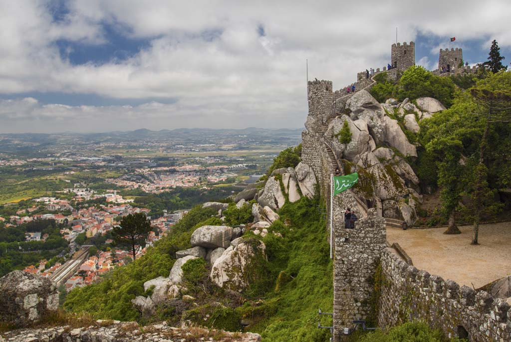 Castle of the Moors at Sintra - 1