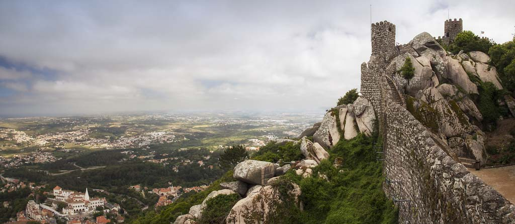 Castle of the Moors at Sintra - 2