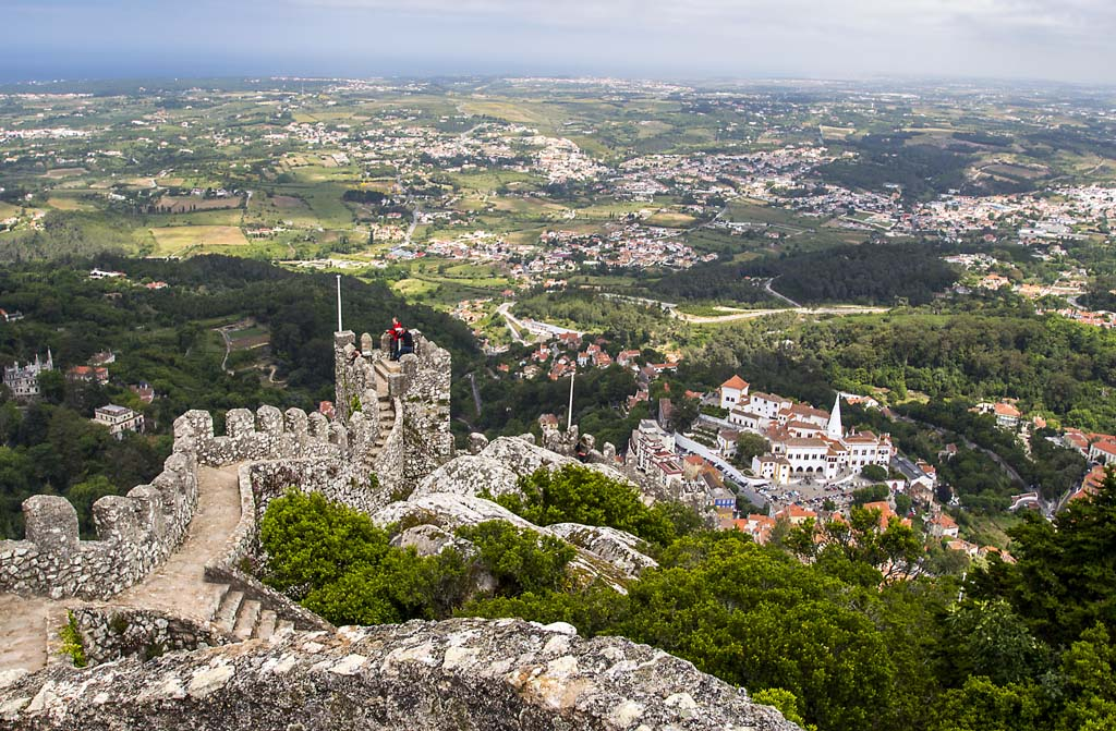 Castle of the Moors at Sintra - 3