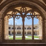 Cloisters at Jeronimo's Monastery at Belem - 5