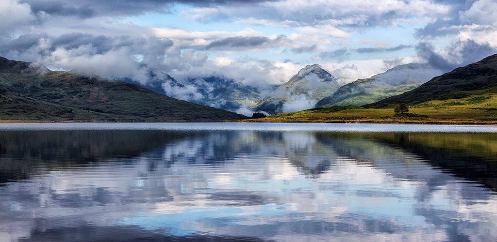 Clouds over the Arrochar Alps