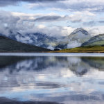 Clouds over the Arrochar Alps, Loch Arklet