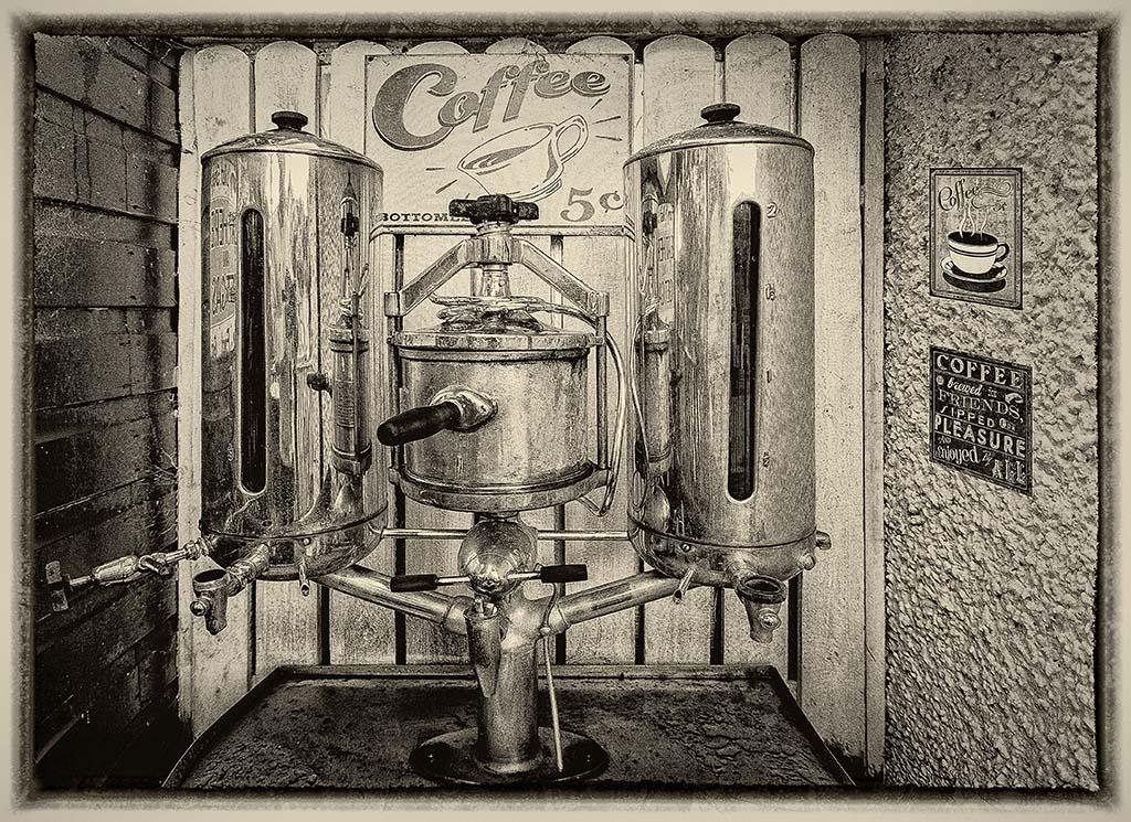 Coffee Machine Wee Blether Tearoom