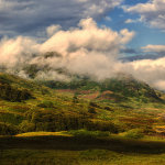 Cruachan over Arklet