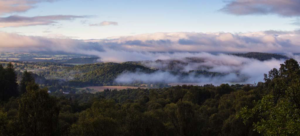 Dawn Mist over Aberfoyle